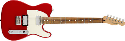 Fender Player Series Telecaster HH Configuration Sonic Red Electric Guitar - MIM