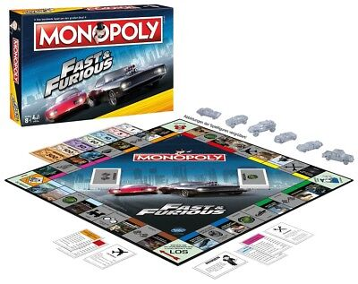 Fast And Furious Monopoly Winning Moves Deutsche Edition  Neu Top