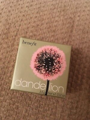 Benefit Miniature Dandelion Blusher New And Sealed 3.5g