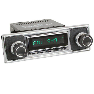 Pour Ford Mustang 1964-66 Retrosound Oldtimer Voiture Radio USB Bluetooth AUX IN FM