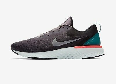 6ace2a959f2d NIKE ODYSSEY REACT FLYKNIT UK 10 EU 45 THUNDER GREY Running Gym ...