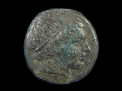 Greek coin AE18 of Philip II, 359-336 BC, Father of Alexander the Great  CC6573