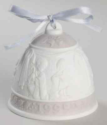 Lladro ANNUAL CHRISTMAS BELL 1995 Christmas Bell 73060