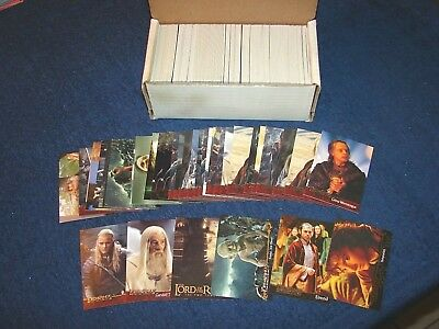 Lord Of The Rings Lotr Fellowhip Two Towers Return Lot Of 425 Cards (18-58)