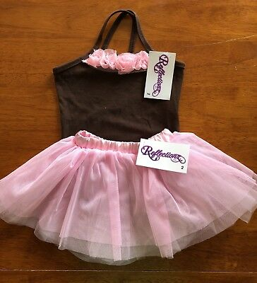 e2a2062bd1d TODDLER RED   White Revolution Dance Wear Outfit Size XSC -  9.99 ...