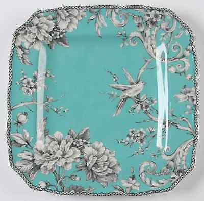 222 Fifth ADELAIDE-TURQUOISE Square Dinner Plate 9831779