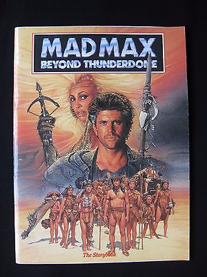 MAD MAX BEYOND THUNDERDOME 1985 Original movie storybook Tina Turner Mel Gibson