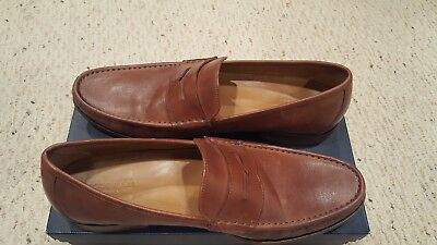043c3190ec2 NEW COLE HAAN Aiden Grand Penny II Loafer Slip On British Tan Mens ...