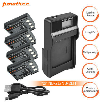Replacement NB-2LH NB-2L Battery or Charger for Canon Rebel XT XTi EOS 350D BT