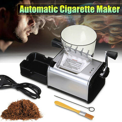 Electric Automatic Rolling Cigarette Machine Maker Inject Tube 7-8mm DIY Tobacco