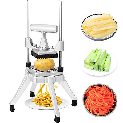 "3/8"" Commercial Vegetable Fruit Dicer Stainless Steel Food Cutter Chopper Tool"