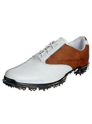 save off 4fef9 0c2f2 Adidas Adipure Motion Tour Mens Golf Shoes 674882 New Whbrn 7.5 Med 290  Retail
