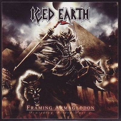 Framing Armageddon: Something Wicked, Pt. 1 ICED EARTH 2 CD +4 songs