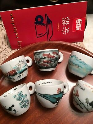 Illy collection 1995 china by An Du 1993 6 tazzine caffe