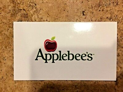 5 Applebees Free Meal Combo Voucher Cheap New Restaurant Food Gifts $75 Value