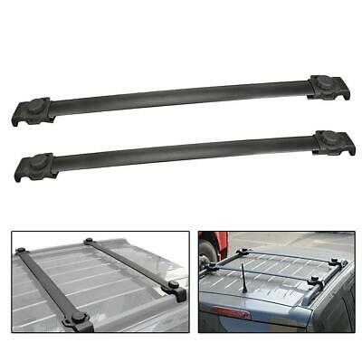 For 07-14 17 18 Jeep Patriot OE Style Top Roof Rack Cross Rail Luggage Bars