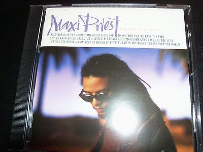 Maxi Priest – Best Of Me (Australia) Very Best Of Greatest Hits CD – Like New