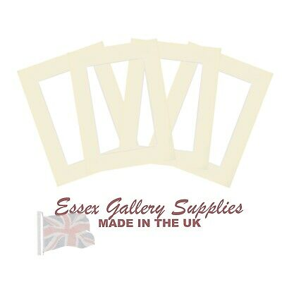 Picture And Photo Frame Mounts IVORY / CREAM - (Listings Reset - Thousands Sold)