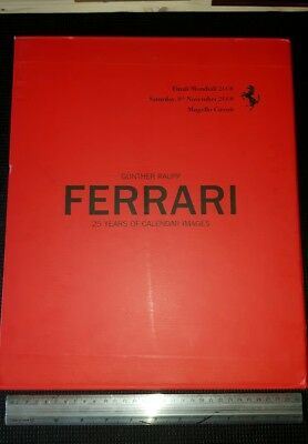 Ferrari  25 years of calendar images Finali mondiali  2008 book