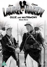 Laurel & Hardy Volume 4 - Ollie and Matrimony/Classic Shorts [DVD], Very Good DV
