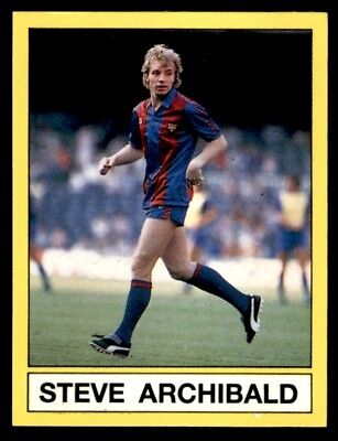 Panini Football 87 (UK) Steve Archibald Brits Abroad No. 449