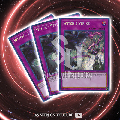 WITCH'S STRIKE x3 | Secret Rare | SAST-EN079 Savage Strike YuGiOh