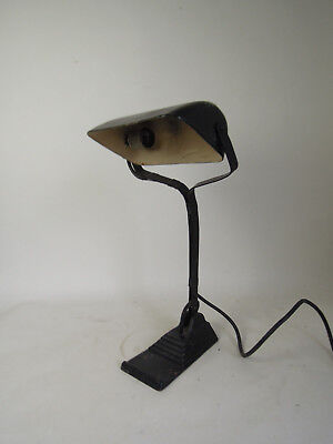 Vintage Art Deco Desk Table Bedside Lamp Mid Century Danish Modern Bauhaus 50s