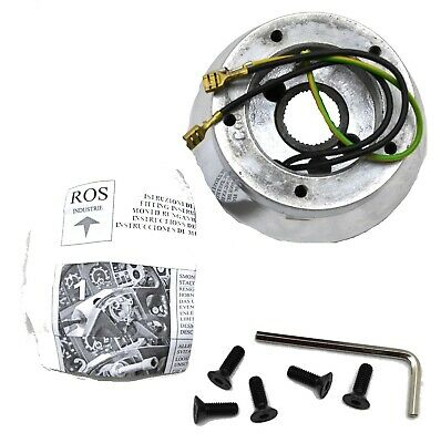steering wheel installation kit chrome for Kenworth Apr 1997 to Mar 2001, 5 hole