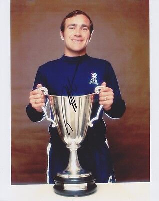 Ron 'Chopper' Harris Signed 8x10 Photo, Autograph Chelsea Footballer