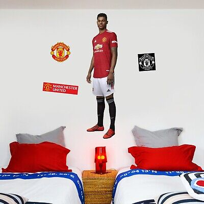 Manchester United FC Marcus Rashford Wall Sticker + Man Utd Decals