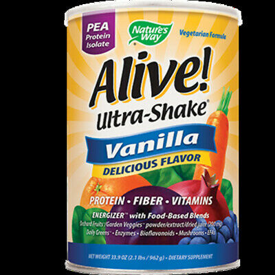 Nature's Way - Alive!® Ultra-Shake Vanilla 33 oz 15545