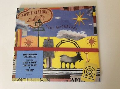 Paul McCartney LIMITED EDITION Egypt Station CD (BRAND NEW 2018) The Beatles