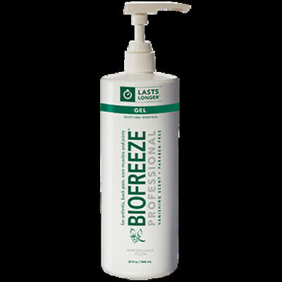 BioFreeze Professional - Biofreeze Pro Gel Pump Green 32 fl oz