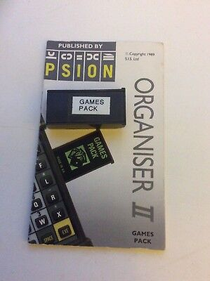 Psion II Games software on a 32k datapack.