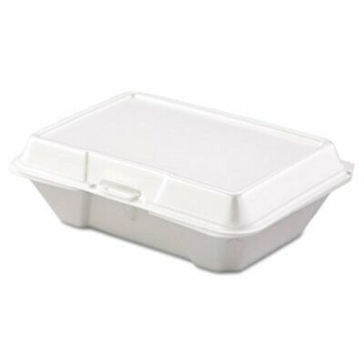 Dart Carryout Food Container, Foam, 1-Comp, 200 Containers  (DCC205HT1)