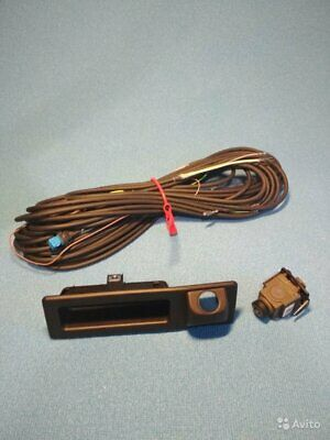 Kit icam rear view Camera with wiring BMW parking 9322282