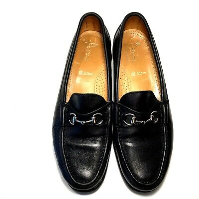 afb52ea6876 Alden Cape Cod Horse Bit Loafer Slip On H467 Black Calf Leather Size 10.5 D