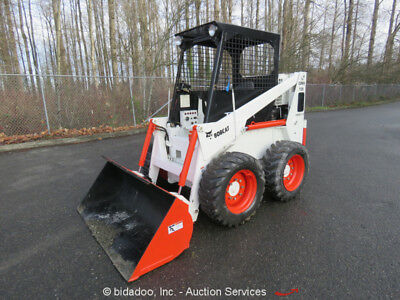 Bobcat Clark 725 Skid Steer Mini Wheel Loader Kubota Diesel 62