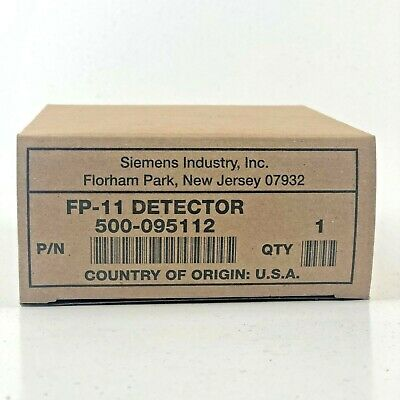 (New) Siemens Fp-11 - Two-Wire Heat And Photo Detector