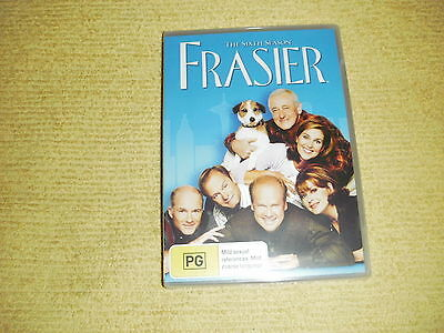 FRASIER 6 Complete Sixth Season Six =4 DVD NEW & SEALED comedy TV Show Series R4