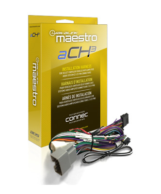 Idata Maestro, ACH3 Plug And Play Amplifier Harness For Chrysler, Dodge, Jeep