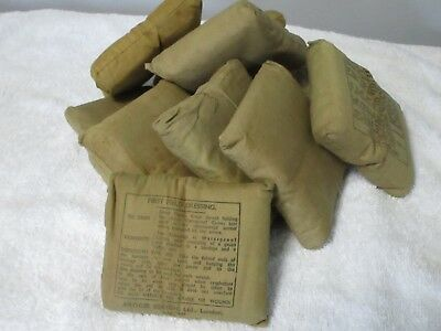 WW2 Field Dressing Dated JULY 1944 5 Pack
