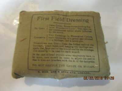 WW2 Field Dressing Dated Sept 1944  10 Pack