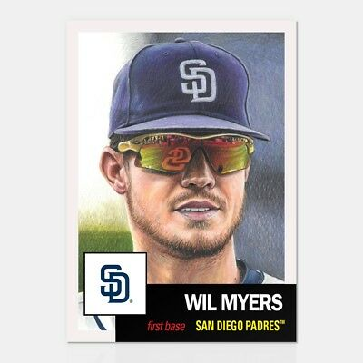 2019 Topps Living Set * WIL MYERS * Card #131 * San Diego Padres