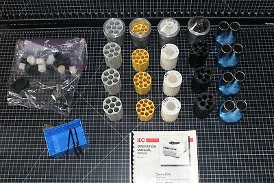 IEC Centra MP4R MP4 Cups Carriers Centrifuge 224 rotor Swing Bucket 3224 3229 mm