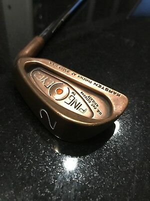Ping Eye 2 Beryllium Copper (BeCu) 2-Iron Men's  Vintage Golf Club Orange Dot
