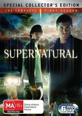 SUPERNATURAL - Season 1 6 x DVD Set Exc Cond! Complete First Series One
