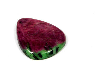 30 Cts. 100% Natural Ruby Zoisite Loose CAABochon Gemstone AAB512