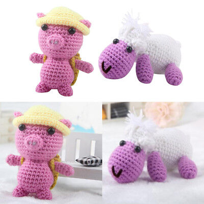 3d Pig Doll Crochet Craft Kit For Kids Baby New Years Christmas Gift