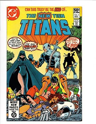 Comic book Grab Bag New Teen Titans 2,1st APP Deathstroke and more